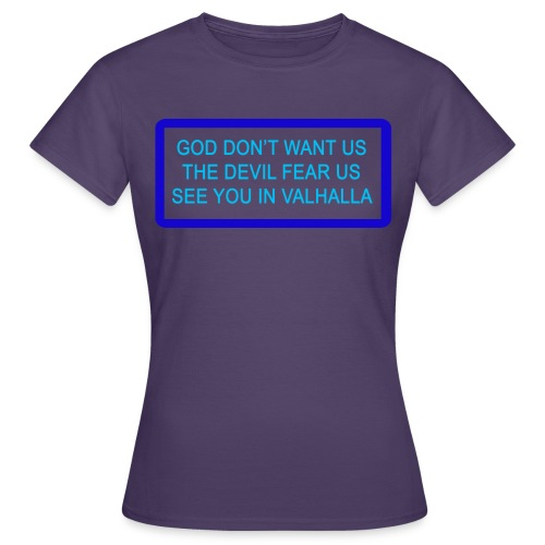 GOD DONT WANT US png - Dame-T-shirt