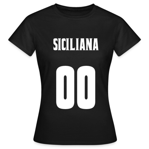 SICILIANA2 png - T-shirt Femme