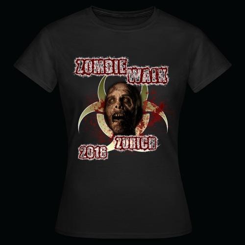 shirt zombie walk2 png - Frauen T-Shirt