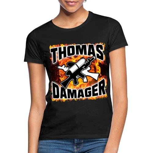 Flames Logo - Frauen T-Shirt