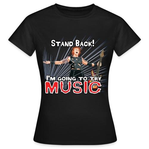 Beware of Music - Women's T-Shirt