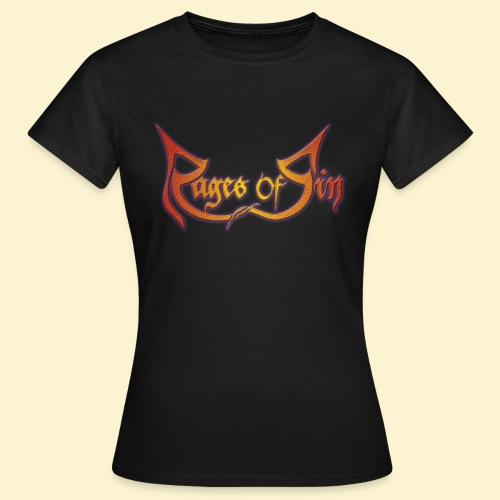 Logo 1080p transonblack - Vrouwen T-shirt