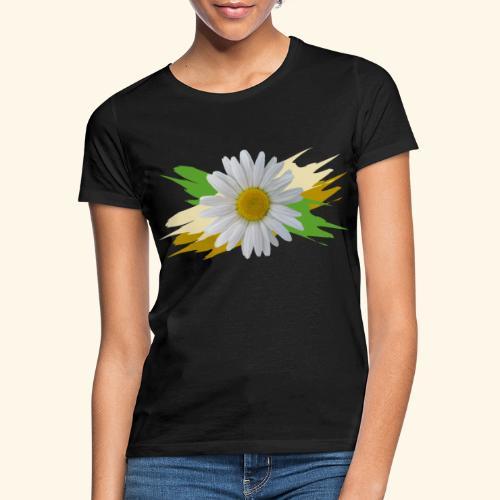 Margeriten Blüte, Blumen, floral, Gänseblümchen - Frauen T-Shirt