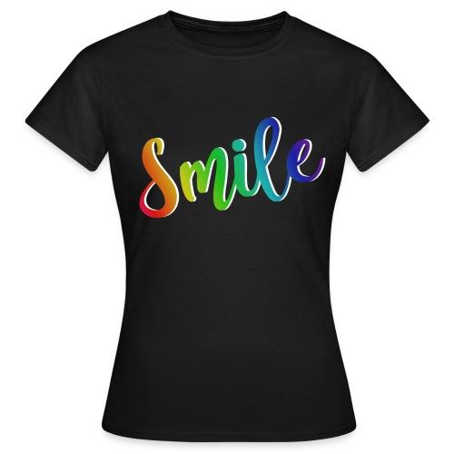 smile - Camiseta mujer