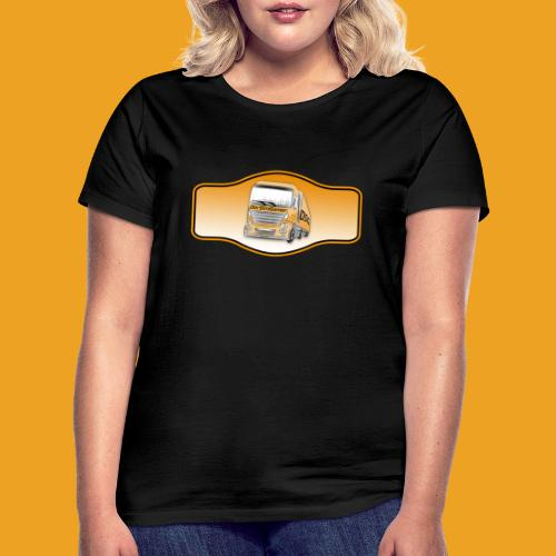 DerSimiGamer auf ein Schild - Frauen T-Shirt