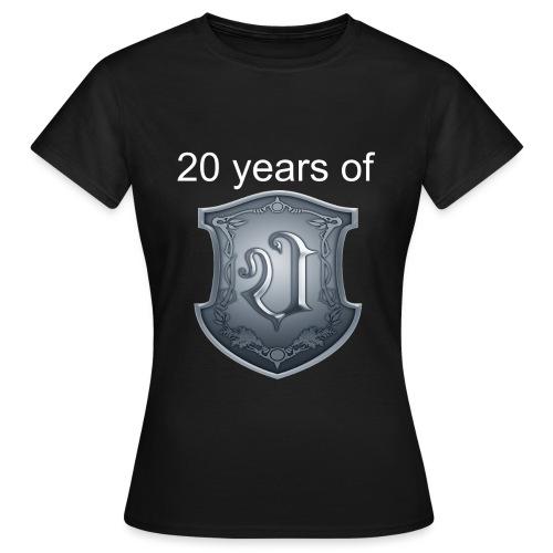 Ultimatium 20th anniversary T-shirt - Naisten t-paita