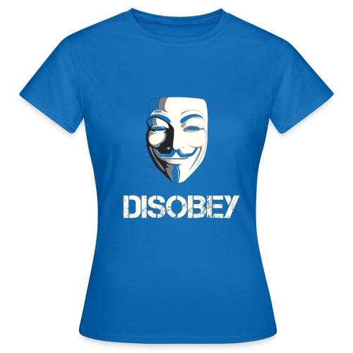 Anonymous Disobey gif - Naisten t-paita