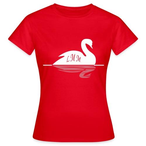 Cygne white png - T-shirt Femme