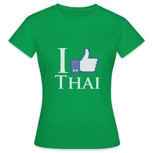 I-Like-Thai-B - Women's T-Shirt