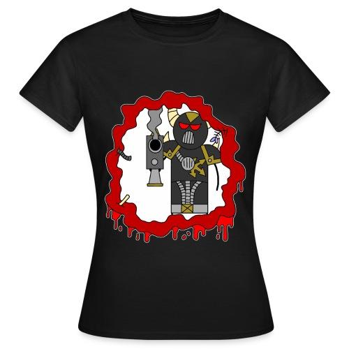 blast damage evil - Women's T-Shirt