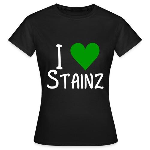 i love stainz - Frauen T-Shirt