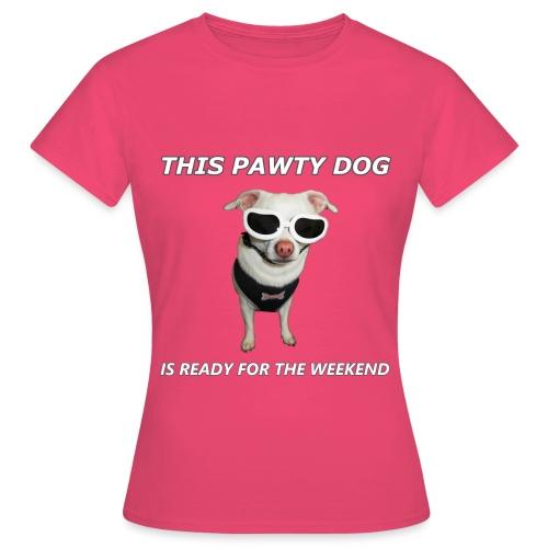 Pawty Dog - Women's T-Shirt