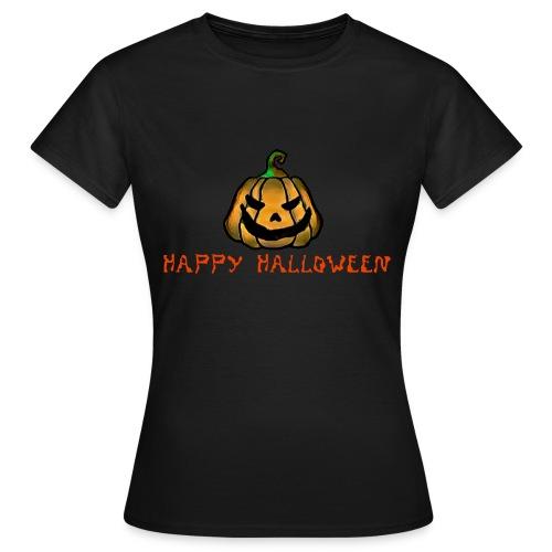 Happy Halloween Pumpkin - Women's T-Shirt