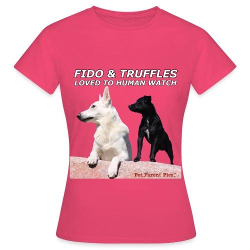 Fido and Truffles - Women's T-Shirt