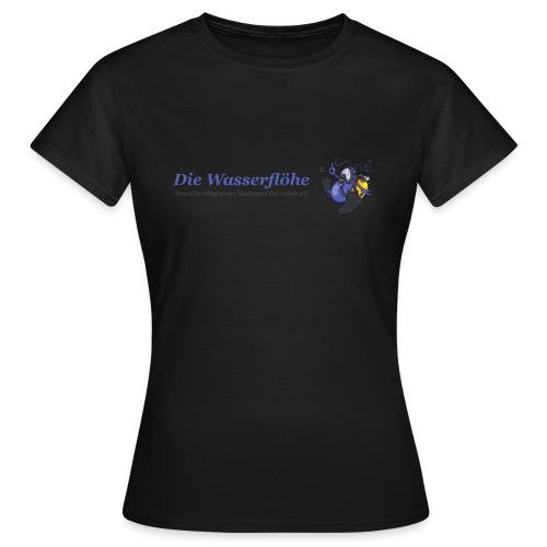 wasserflohlogogross - Frauen T-Shirt