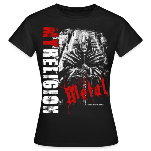 METAL   SKULL - Frauen T-Shirt