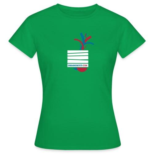Embaumements.com - T-shirt Femme