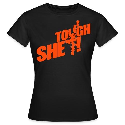 Tough Shet! (womens) - Women's T-Shirt