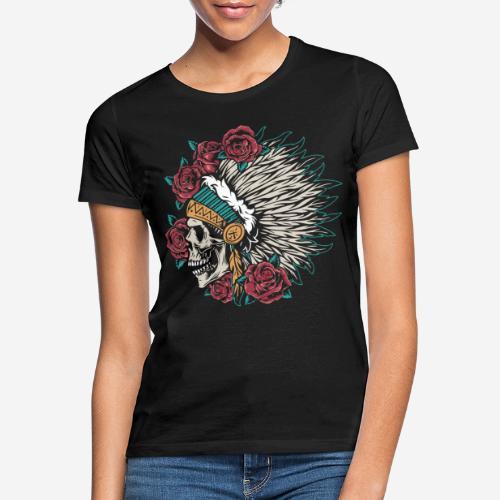 indische Schädelrosen - Frauen T-Shirt