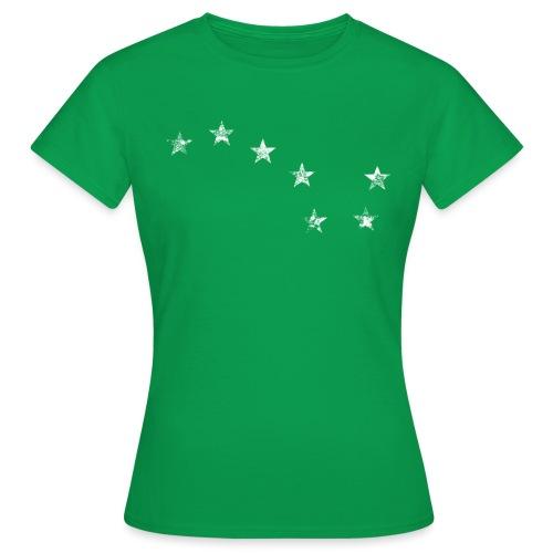 starry plough white grunge - Women's T-Shirt