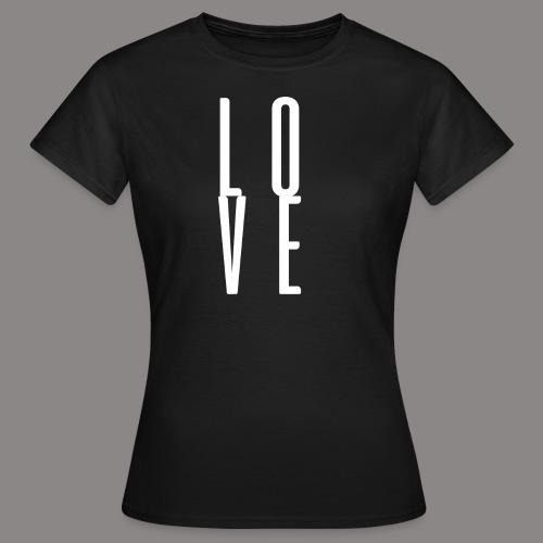LOVEwhite - Frauen T-Shirt