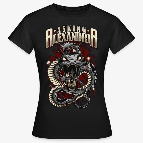 Asking Alexandria 1 - Camiseta mujer