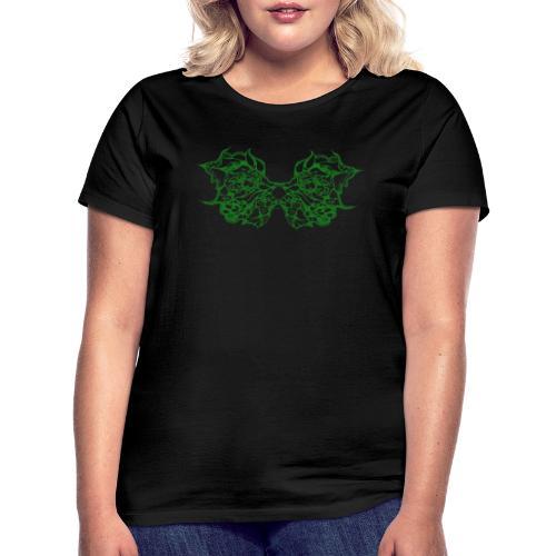 Grüne Spitzenflügel - Frauen T-Shirt