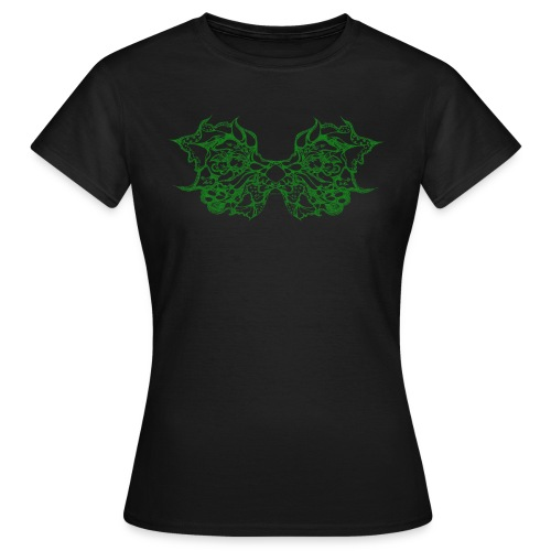Green lace wings - Women's T-Shirt