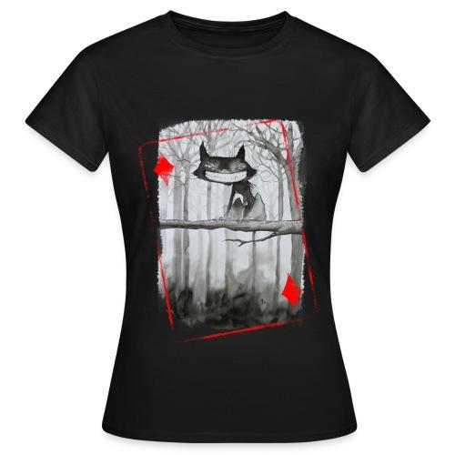 Carte Chat - T-shirt Femme