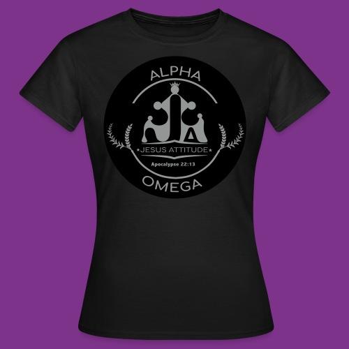 Jesus Alpha & Omega - T-shirt Femme