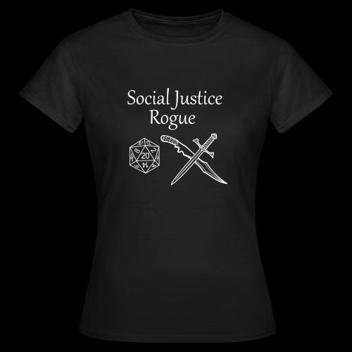 Social Justice Rogue - Women's T-Shirt