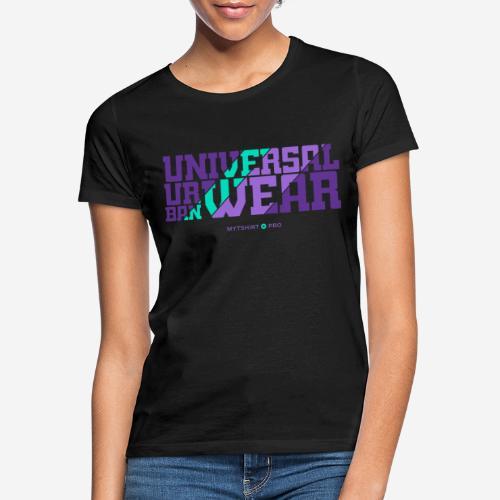 universelle urbane Kleidung - Frauen T-Shirt