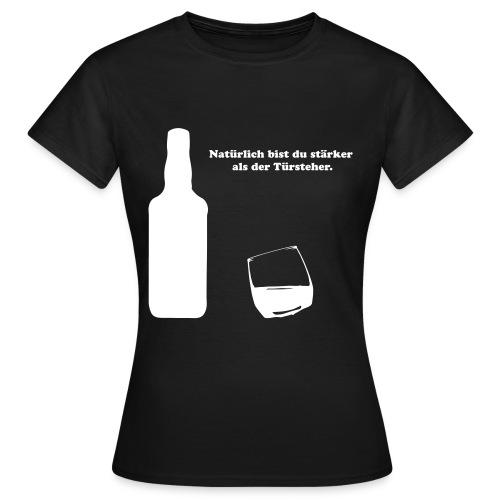 whiskey - Frauen T-Shirt