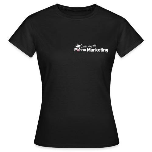 Salesangels Pornomarketing - Frauen T-Shirt