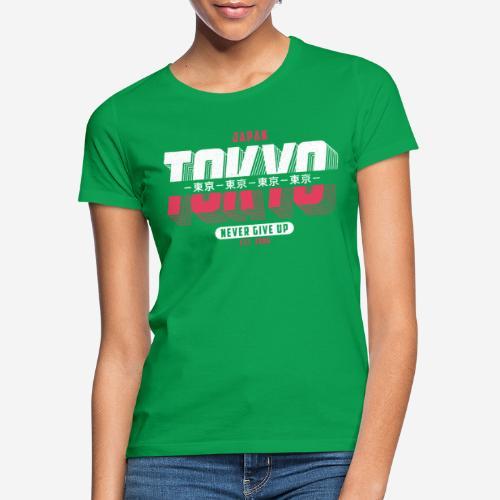 tokyo japan vintage - Frauen T-Shirt
