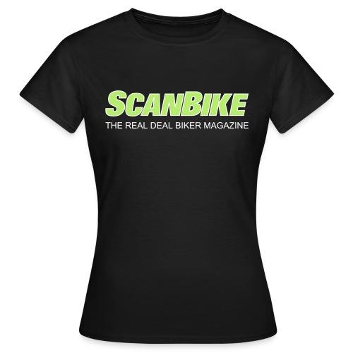 ScanbikeGreen&white - T-skjorte for kvinner