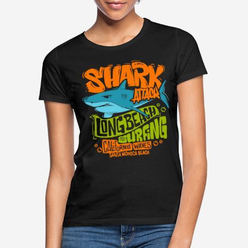 Hai-Surf-Surfen california - Frauen T-Shirt