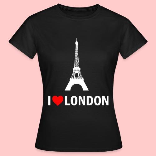 LONDON png - Vrouwen T-shirt