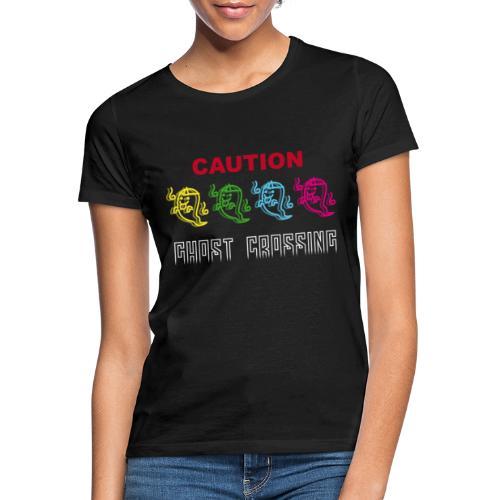 CAUTION Ghost Crossing - Maglietta da donna