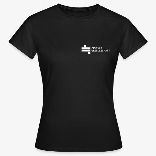 DigiGes Logo Weiß - Frauen T-Shirt