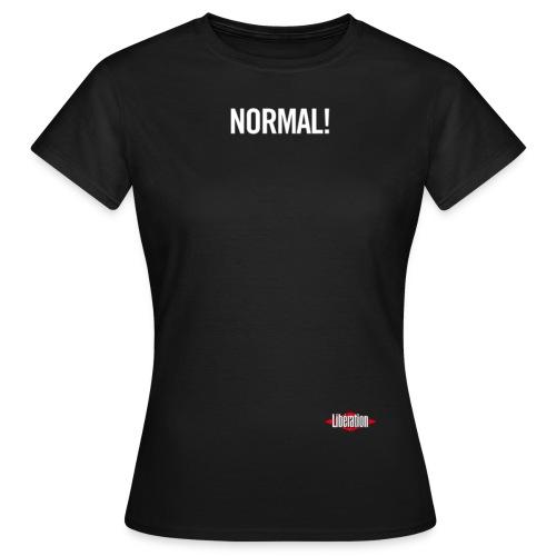normal t shirt noir4 - T-shirt Femme