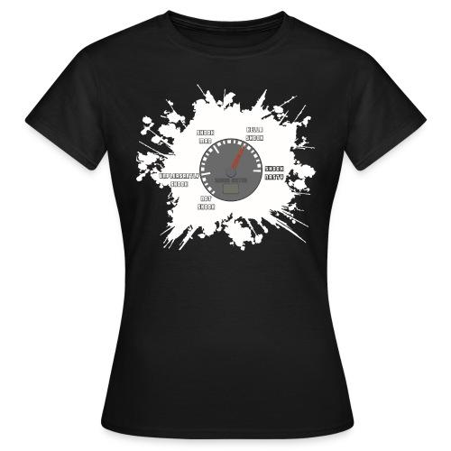 Shook Meter 4000x3692 png - Women's T-Shirt