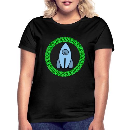 Raumschiff auf dem Weg ins Weltall - Frauen T-Shirt