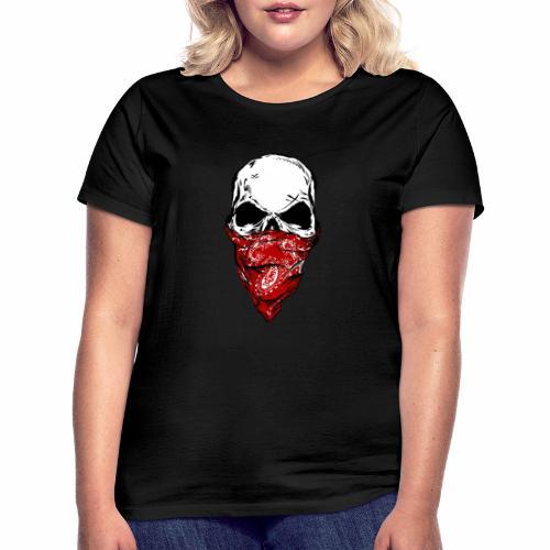 Bandit Skull - Naisten t-paita