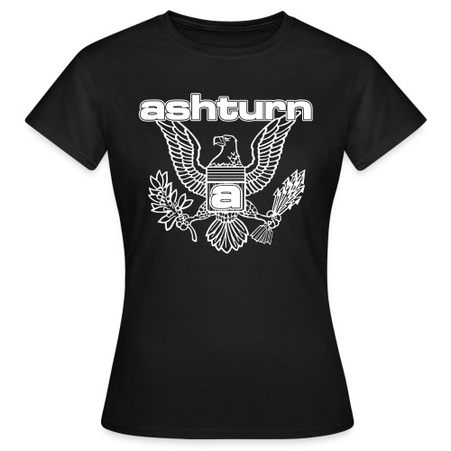ashturneaglespreadshirtdef400pxwhite - Vrouwen T-shirt