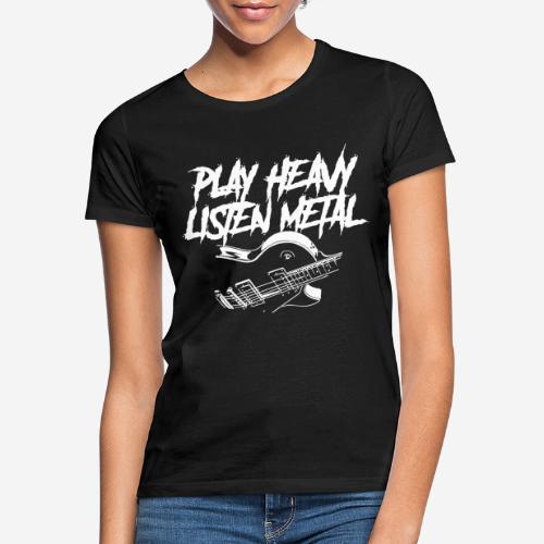 Heavy Metal T-Shirt Design - Frauen T-Shirt