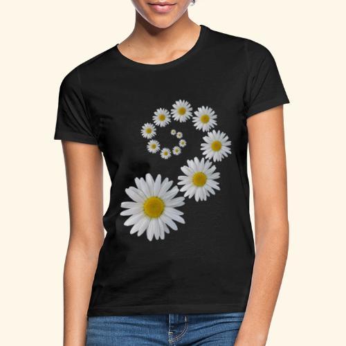 Margeriten Blume, Blumen, Blüte, floral, blumig - Frauen T-Shirt
