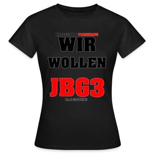 JBG3 png - Frauen T-Shirt