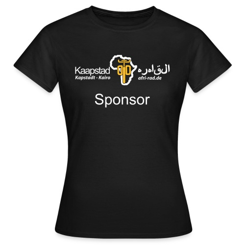 shop tshirt sponsor - Frauen T-Shirt