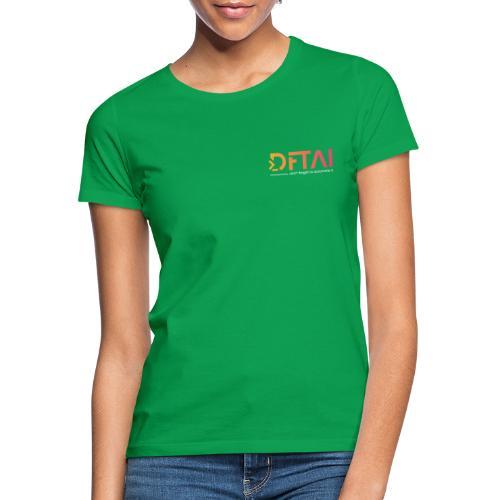 dftai white - Frauen T-Shirt